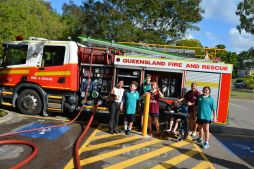 Junior Secondary and Senior Fire Truck Visit