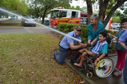 Qld Fire and Rescue Visit